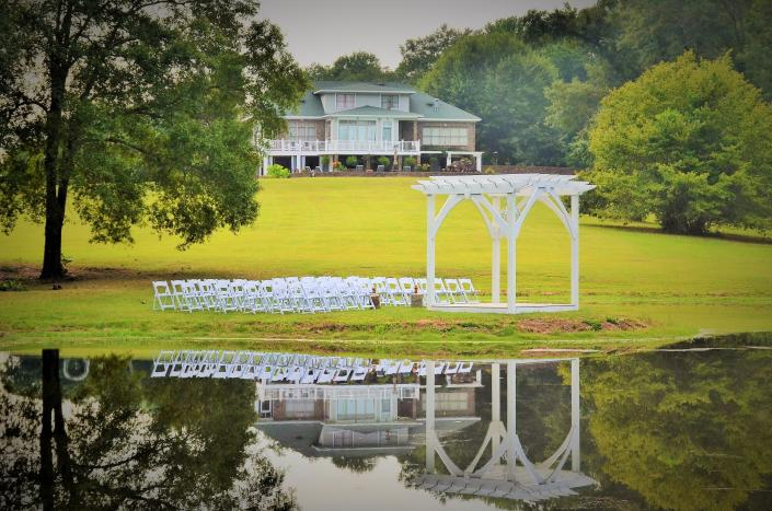 [Image: The Arbor country estate wedding at The Venue at Roseoak]